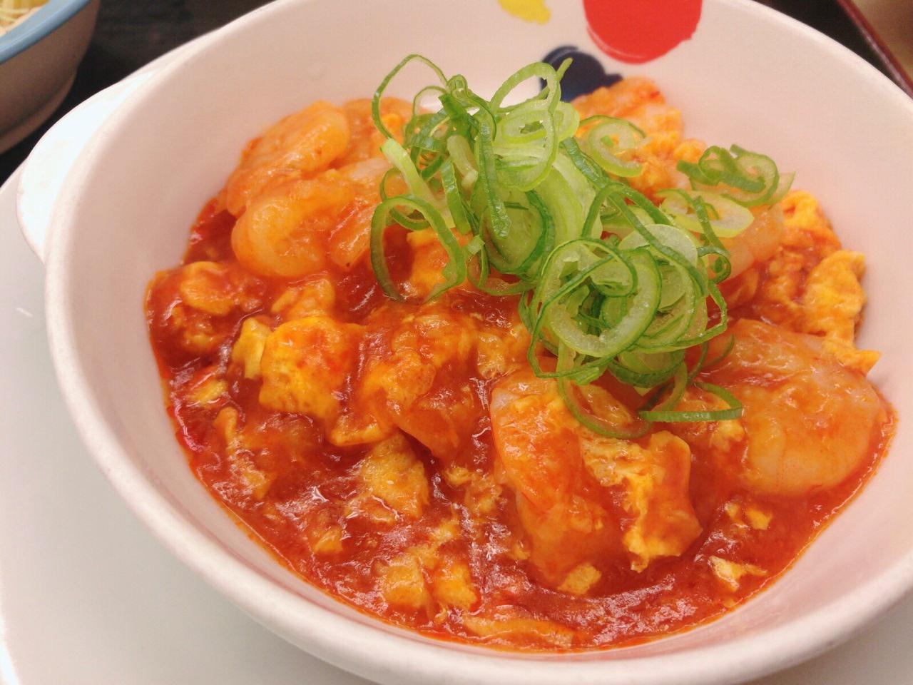 【松屋】店舗限定メニュー!ぷりっぷりの海老がごろごろ入った「海老チリ定食」を食べてみた