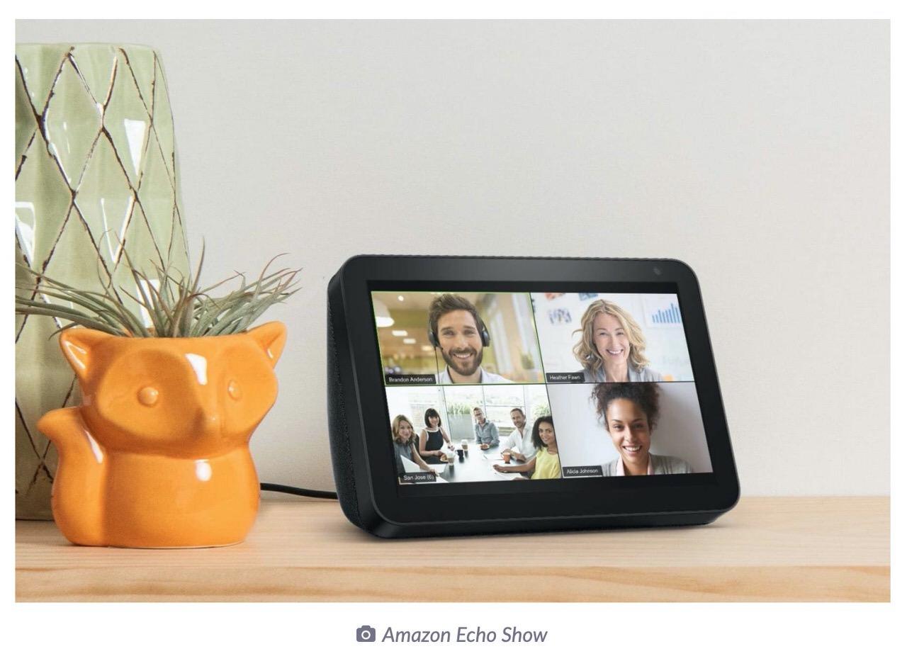 「Zoom」Amazon Echo ShowやGoogle Nest Hub Maxからオンライン会議に参加可能に