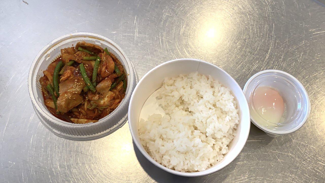 【松屋】「豚キムチ丼」4