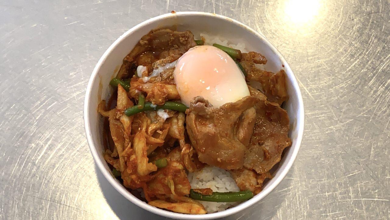 【松屋】「豚キムチ丼」6