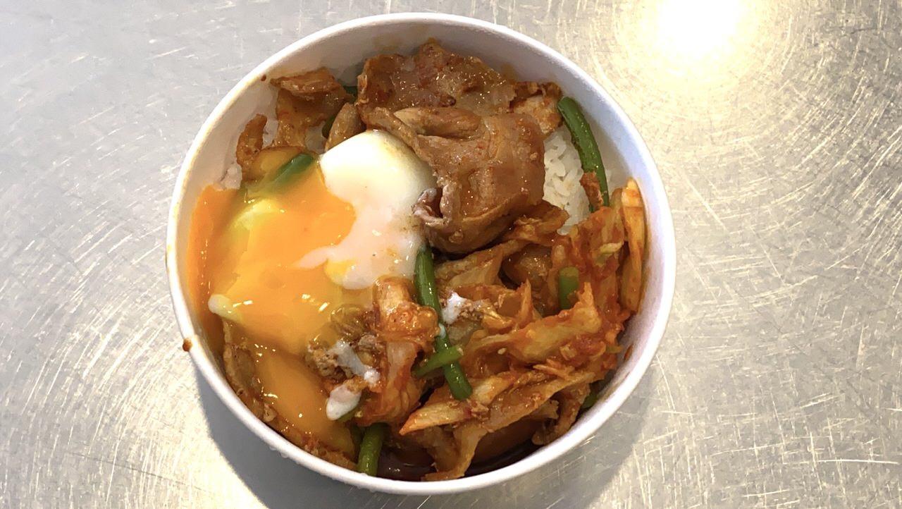 【松屋】「豚キムチ丼」7