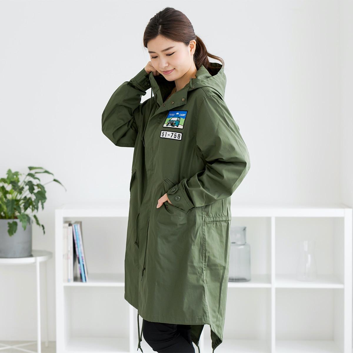 【ゆるキャン△】なでしこのお姉ちゃんのモッズコートがヴィレヴァンオンラインで発売開始