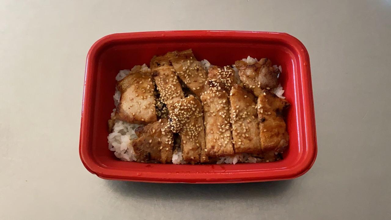 【松屋】「味噌漬けトンテキ丼」3