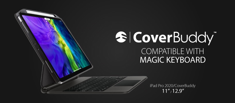 Magic Keyboardと併用できるiPad Pro 12.9用ケース「CoverBuddy」