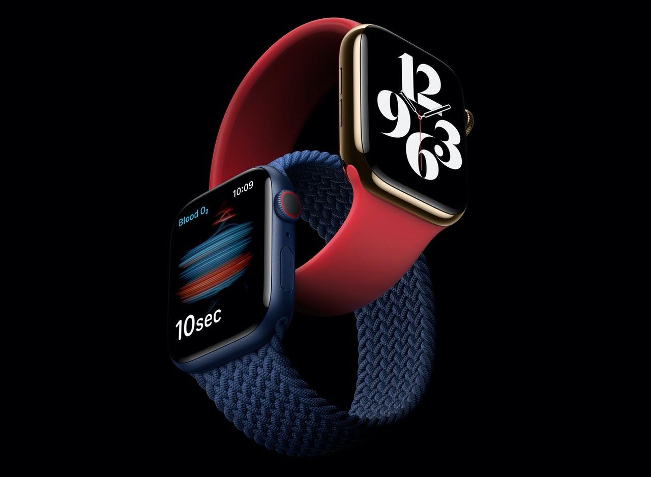 血中酸素濃度センサー搭載し最大20%高速化された「Apple Watch Series 6」発表