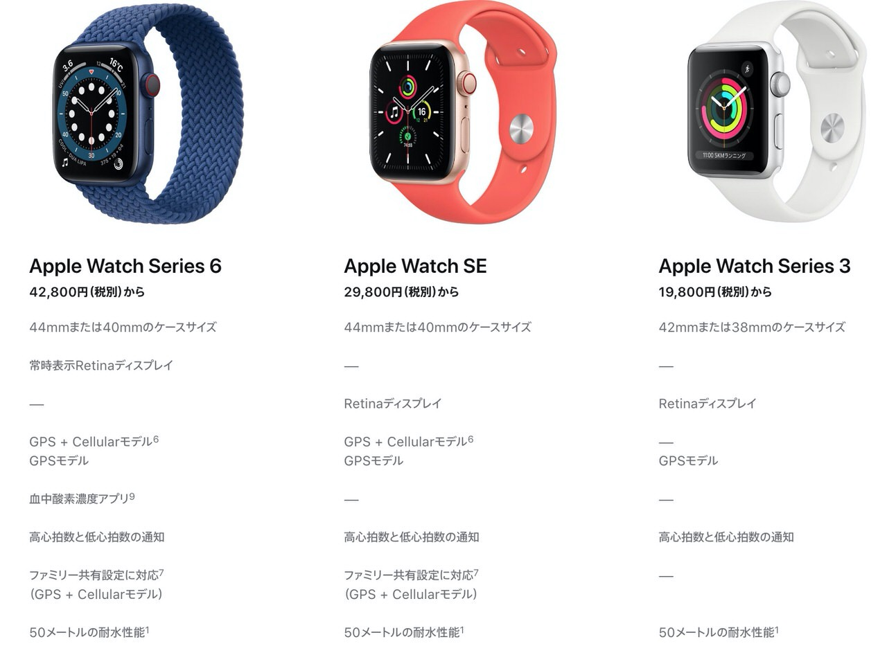 29,800円で購入できる廉価版「Apple Watch SE」発表