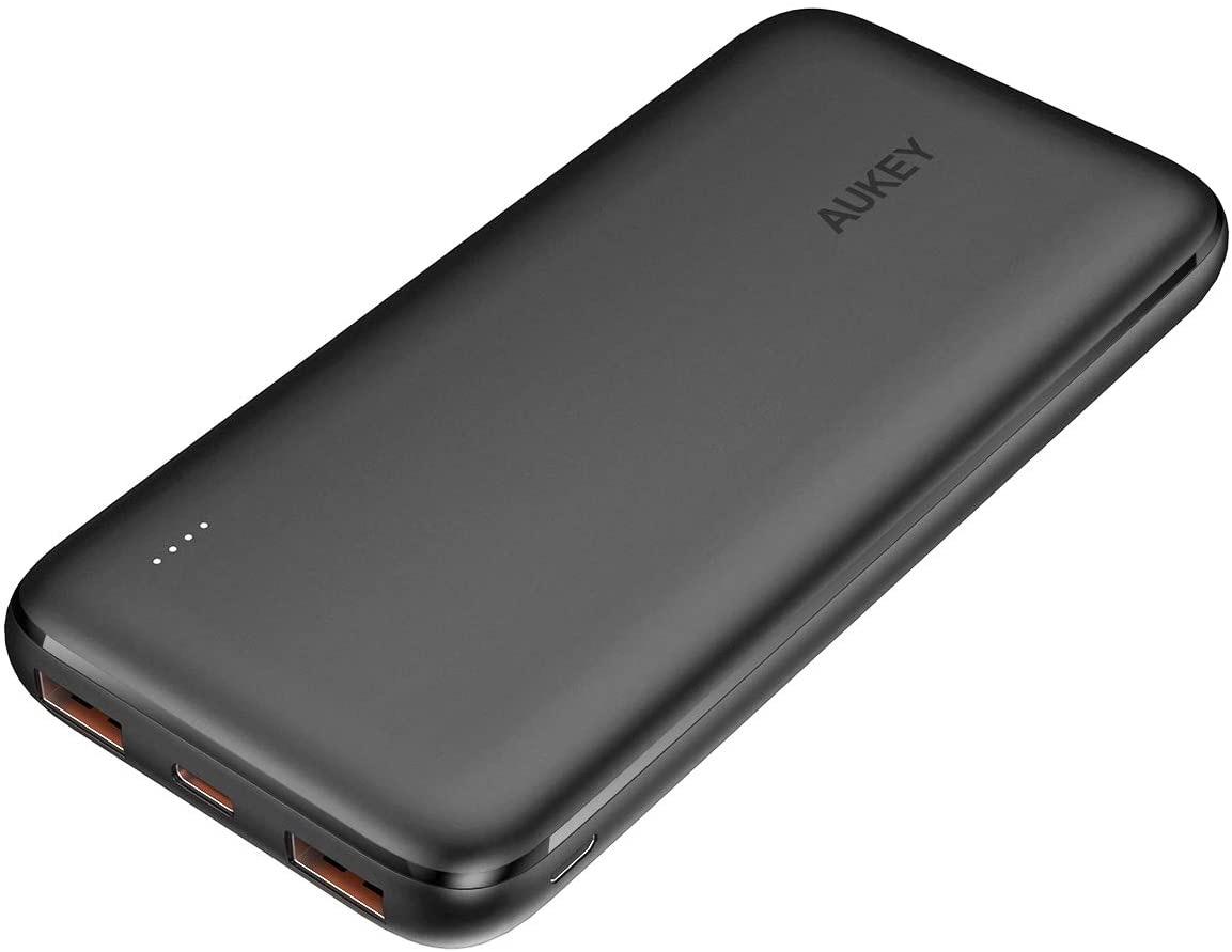 18W PD3.0&QC3.0対応の大容量10,000mAhモバイルバッテリー「AUKEY PB-N73S」新発売セールで20%オフの2,064円に