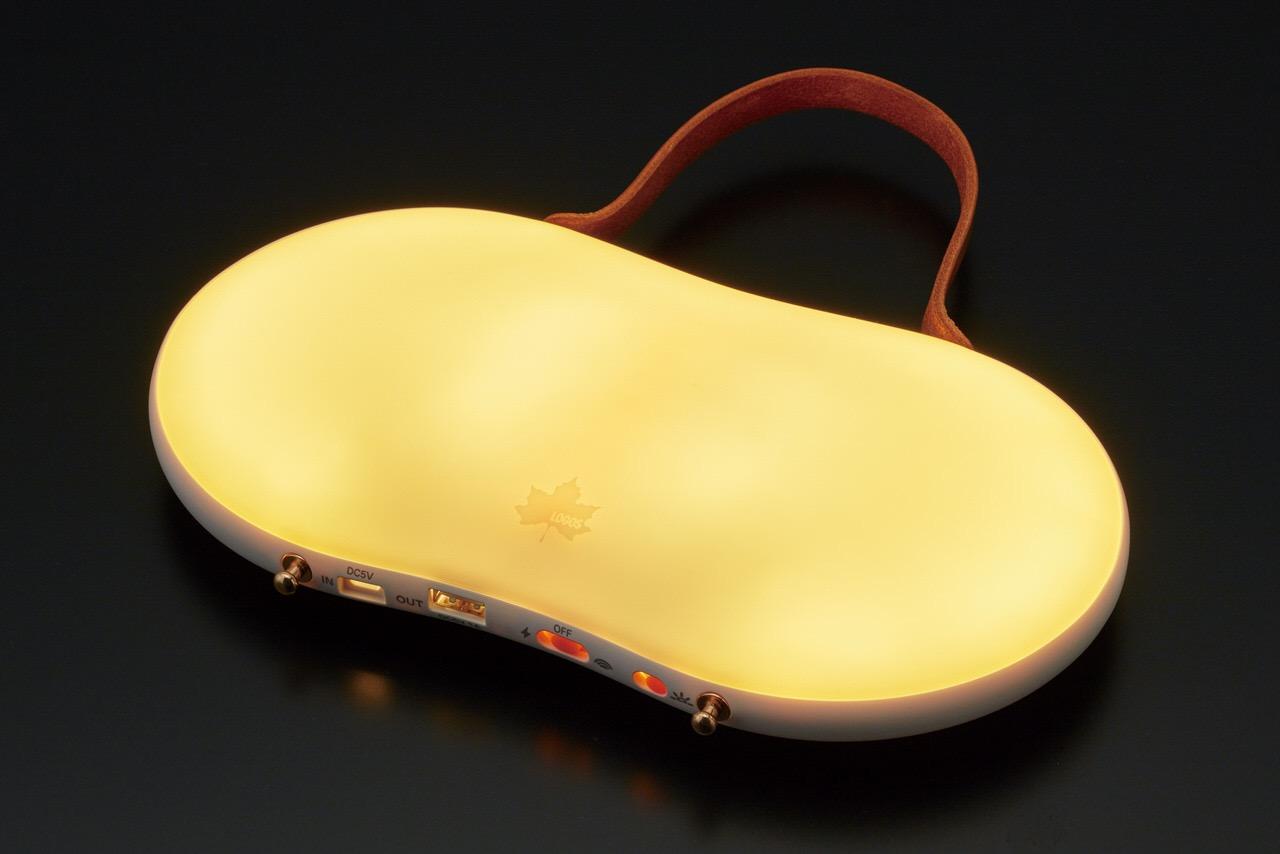 【ロゴス】ライトにもなる電気式カイロ「野電 あったかパッド(USB蓄電)」発売