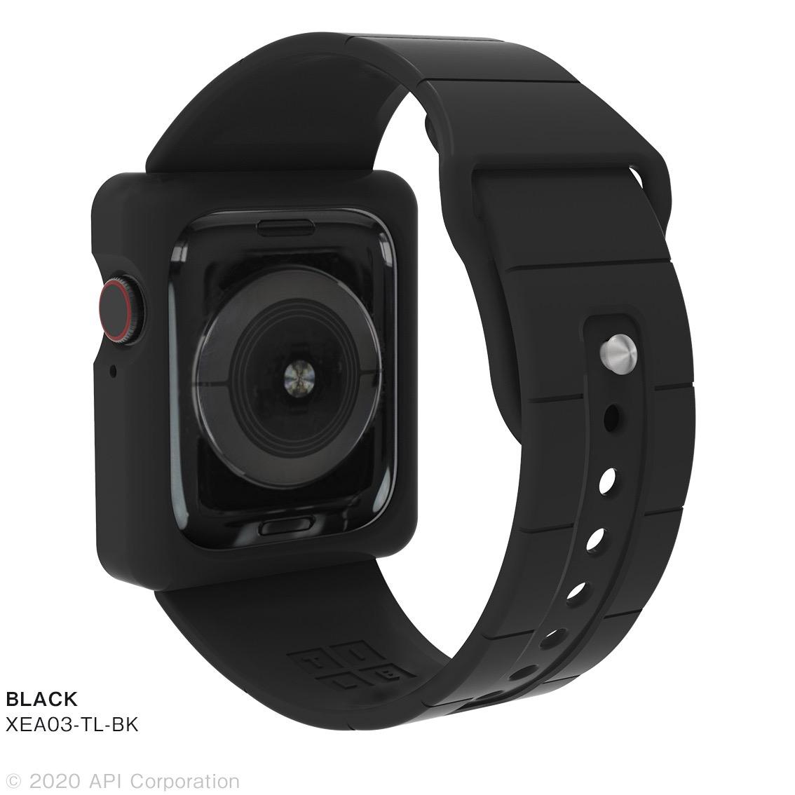 「TILE Apple Watch Band Case」Apple Watch Series 6/5/4/SE向けのケース一体型Apple Watchバンド