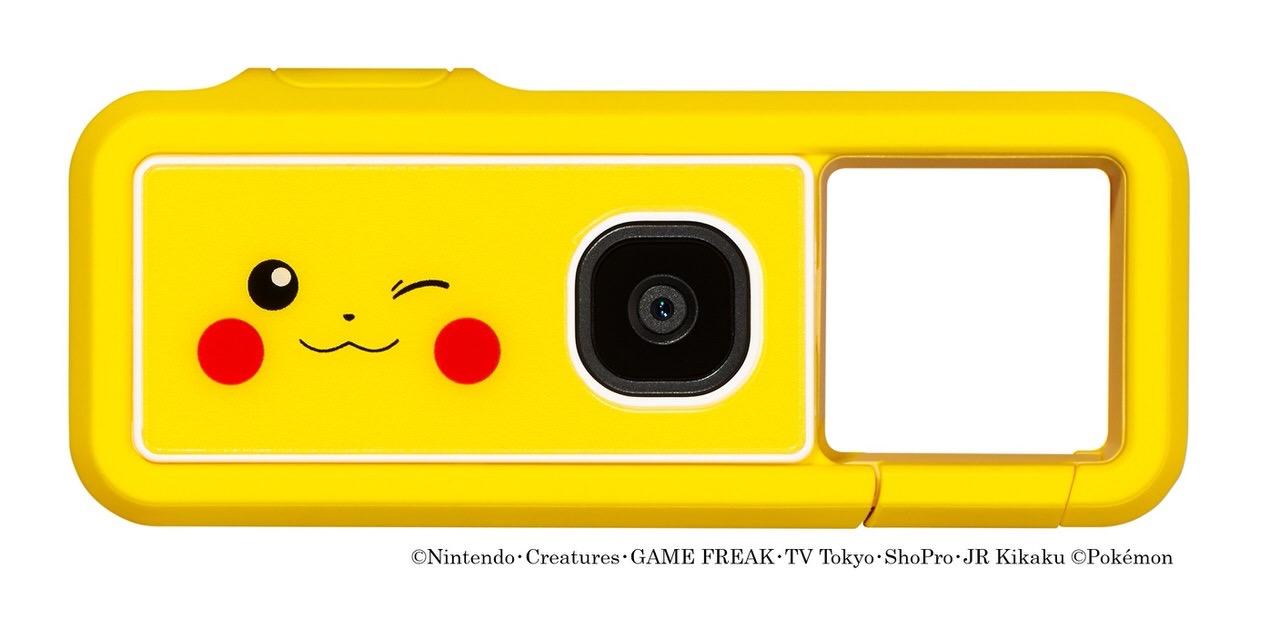 """キヤノンの新コンセプトカメラ""""iNSPiC REC""""のポケモンデザインモデル「iNSPiC REC PIKACHU MODEL」発売"""