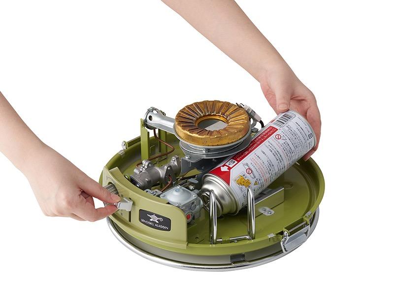 【LOGOS】ガスボンベで使える「LOGOS × SENGOKU ALADDIN パノラマ ガス ストーブ」