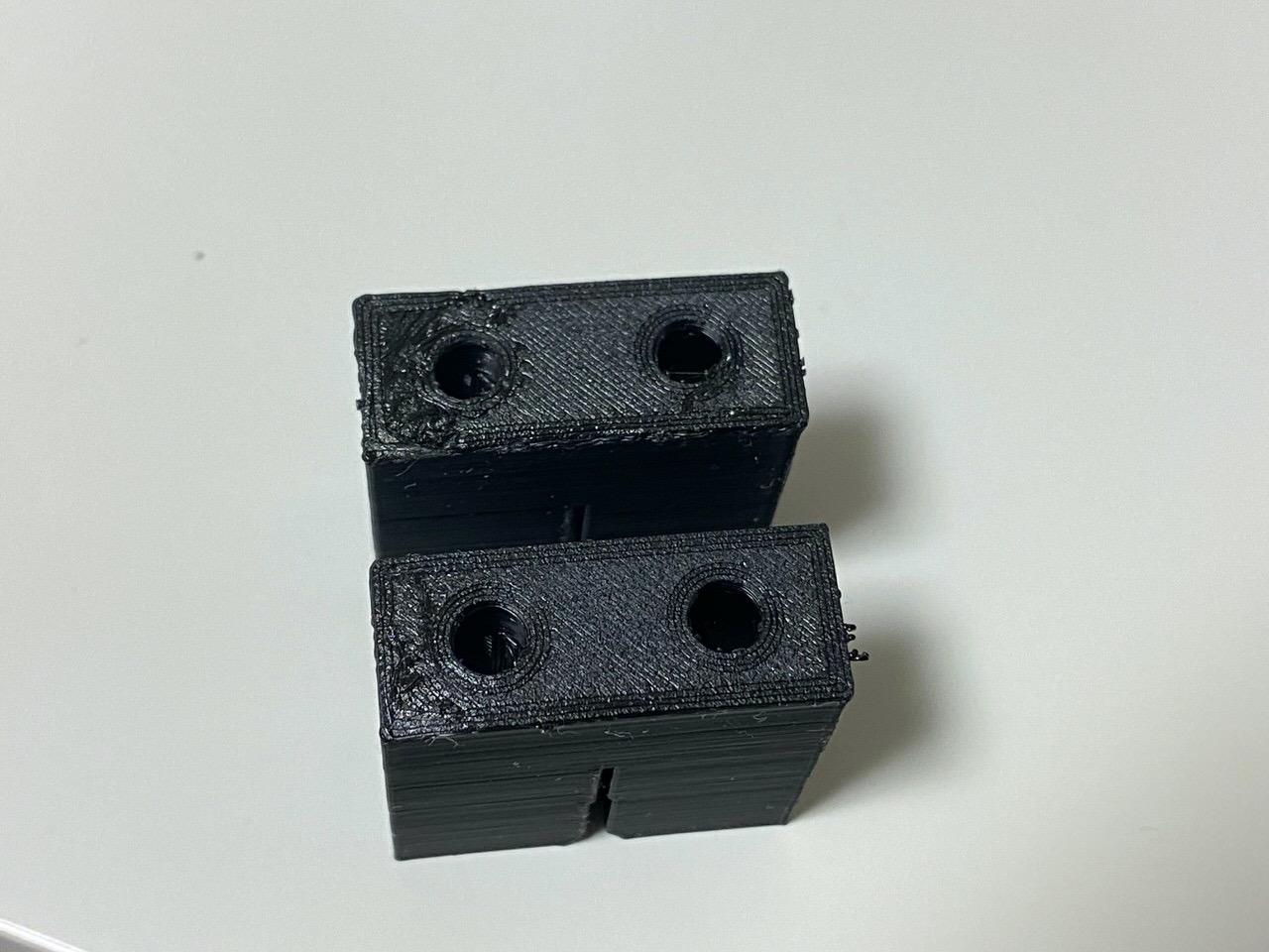 【3Dプリンター】印刷前の予熱が大事 2
