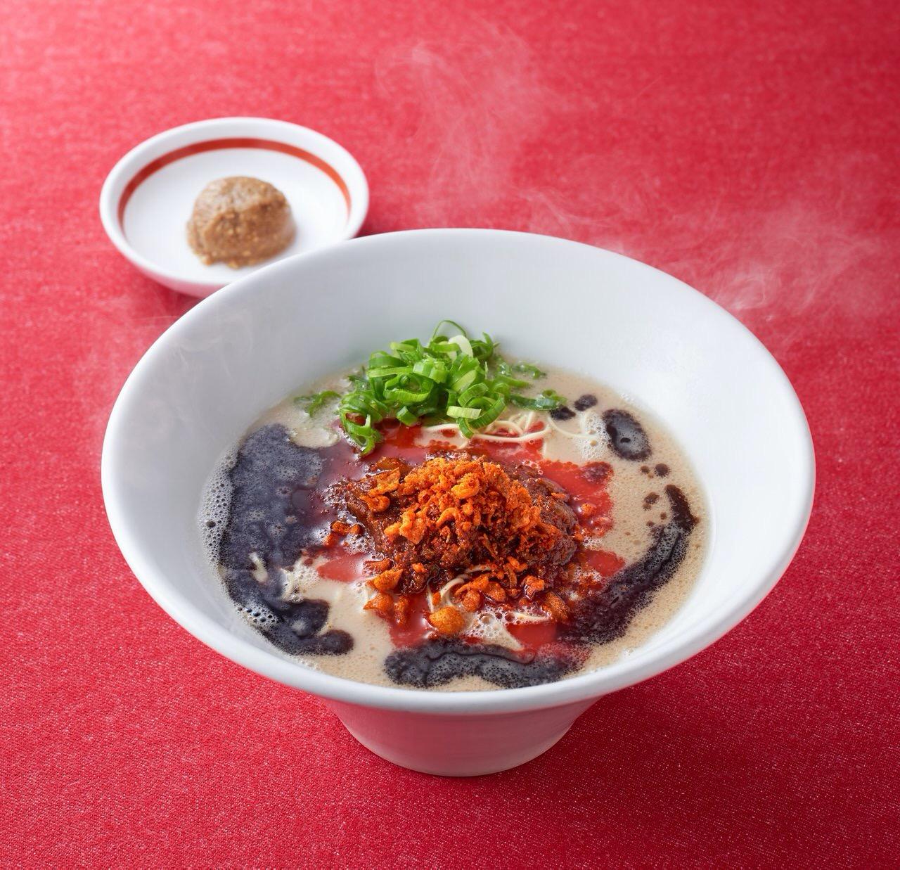 【一風堂】定番ラーメン「からか麺」を「極(きわみ)からか麺」としてリニューアル(10月16日発売開始)