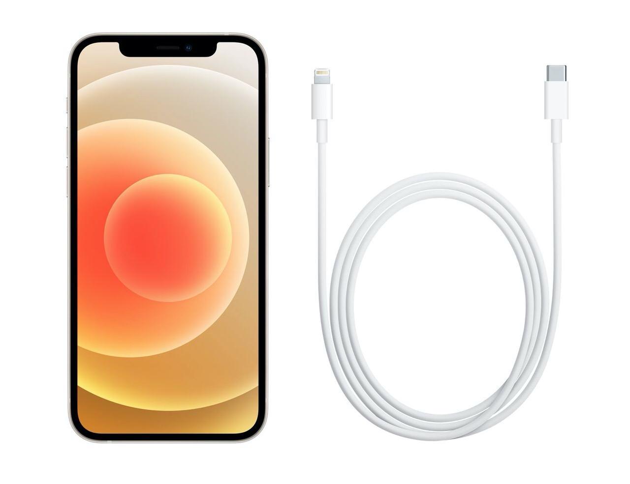 iPhone 12/11/XR/SEの同梱物がUSB Type-C-Lightningケーブルのみに変更