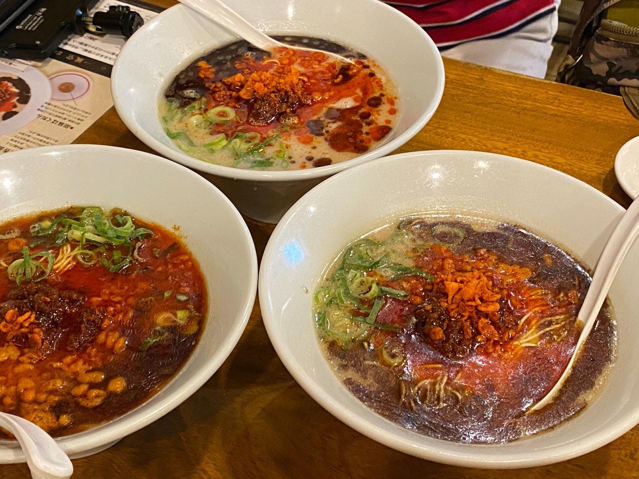 【一風堂】「極からか麺」7