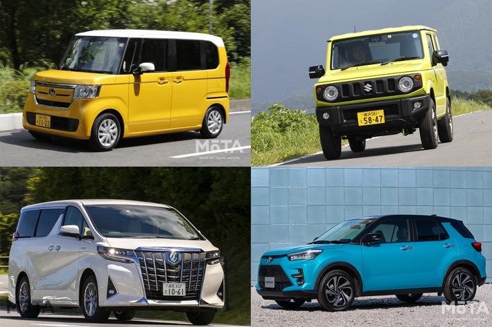 いま中古車では何が売れている?2020年9月中古車ランキング2位はアルファード、1位は?