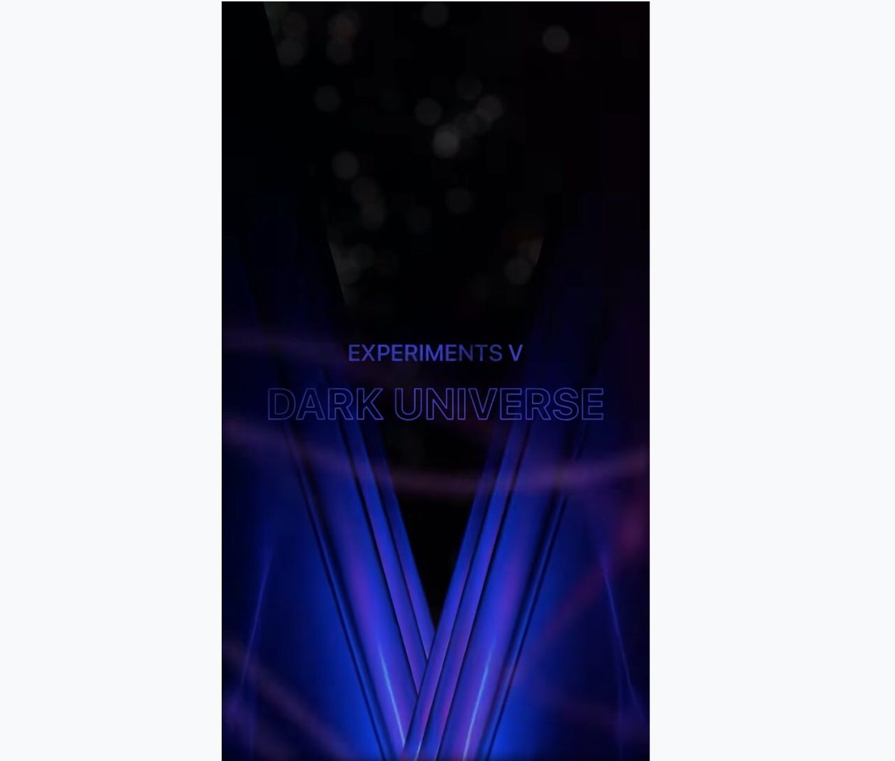 Apple、iPhone 12 Proで撮影した動画「Experiments V: Dark Universe」公開