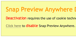 Snap Disable2