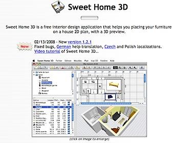 部屋の模様替えをシミュレートする「Sweet Home 3D」
