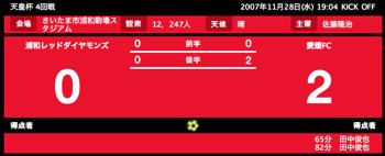 天皇杯 4回戦 浦和レッズ v.s. 愛媛FC