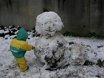 巨大雪だるま2008