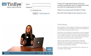 画像を使って画像検索する「TinEye」