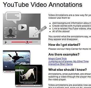 YouTubeの吹き出し(注釈)機能を試してみた