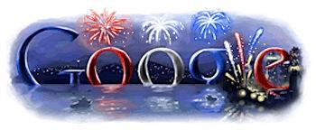 Googleロゴ「独立記念日」に