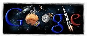 Googleロゴ「NASA」設立を記念したものに