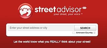 Googleストリートビューで通りを格付けする「StreetAdvisor」