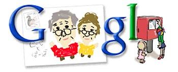 Googleロゴ「敬老の日」に