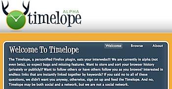 ウェブブラウズの履歴を残してくれるFirefoxアドオン「Timelope」