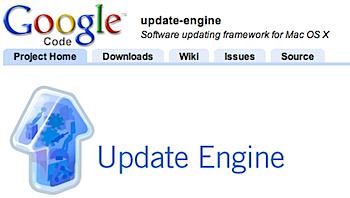 ソフトウェアアップデートのMac OS X用フレームワーク「Update Engine」
