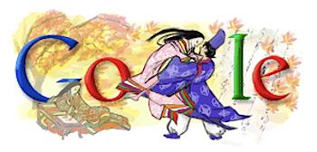 Googleロゴ「源氏物語」に、11月1日は「古典の日」
