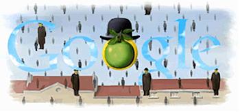 Googleロゴ「Magritte(マグリット)」に