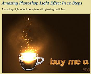照明効果を実現する「Photoshop」チュートリアル28種類のまとめ