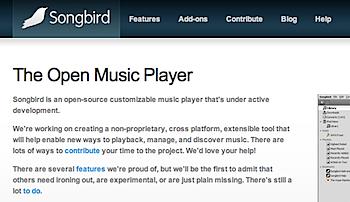 オープンソースのメディアプレーヤー「Songbird」リリース