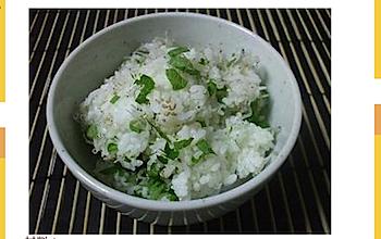 ポン酢と胡麻油でさっぱり食べる「しらすと大葉のポン飯」の作り方・レシピ