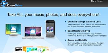 ローカル環境とシームレスに統合するオンラインストレージサービス「ZumoDrive」