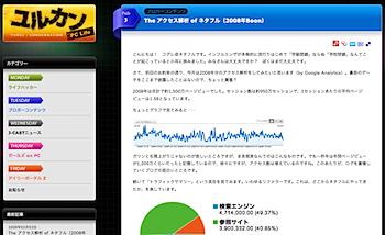 「ユルカン PC Life」2008年Boon更新