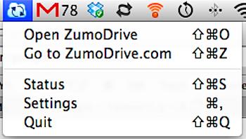「ZumoDrive」写真データをアップロードしてみる