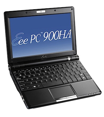 ASUSTeK、160GB HDD搭載で44,800円「Eee PC 900HA」発表