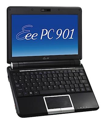 ASUS、独自技術で高速化したネットブック「Eee PC 901-16G」日本発売へ