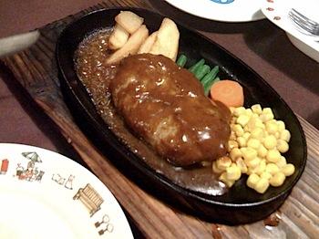 「れすとらん青柳」で牛カツを食す(那須)