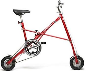 スポーティーな折り畳み自転車「EXWALKER」ちょっと欲しい