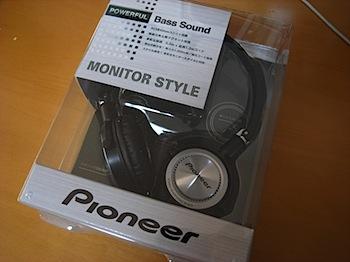 ヘッドホン「Pioneer SE-MJ3」購入