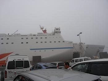 [北海道旅行]フェリーで大洗から苫小牧へ