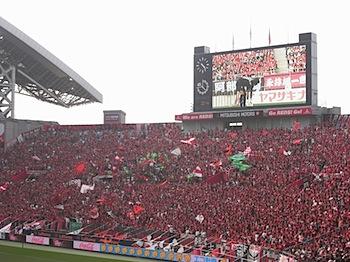 ナビスコ杯予選第6節 浦和レッズ v.s. 名古屋グランパス