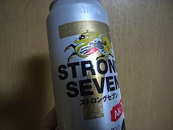 キリン「ストロングセブン」飲んだ