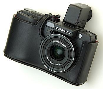 GX100/200用本革カメラケース「BOSY SUIT」